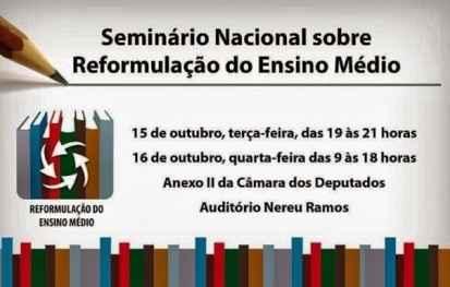 Convite Seminario Nacional 15-16
