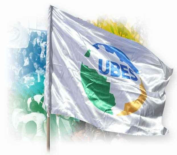 Bandeira da UBES