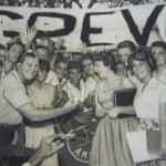Passeata pela Greve contra o aumento das taxas escolares, Rio de Janeiro, 1950. (Arquivo do Estado de São Paulo_Última Hora)