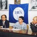 O presidente da UBES Joel Benin em atividade na Câmara dos Deputados, Brasília (Acervo UBES)