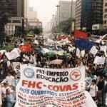 Manifestação Fora FHC, São Paulo (Acervo UBES)