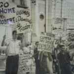 Manifestação estudantil contra o Ministro da Fazenda Roberto Campos. (Acervo MME)