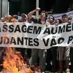 Levante do Busão contra o aumento das passagens. São Paulo. (Acervo UBES)