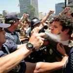 Contra o aumento das passagens em São Paulo. (Acervo UNE)