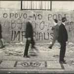 Protestos através de pixações nas ruas do Rio de Janeiro (Arquivo Nacional_Acervo MME)