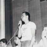 Apolinario Rebelo presidente da UBES 1983-84 (Acervo UBES)