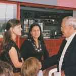 Carla Santos com o primeiro presidente da UBES Luiz Bezerra (Acervo UBES Foto Isadora Pisoni 2005)