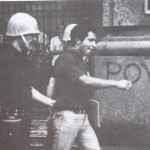 Estudante preso durante passeata contra a ditadura, Rio de Janeiro (Arquivo Nacional_Acervo UNE)