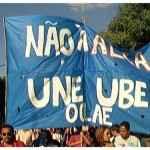 Marcha contra a Alca em 1994
