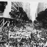Protesto do Fora Collor