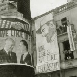 UNE protesta contra a visita de Eisenhower, fevereiro 1960_tratada