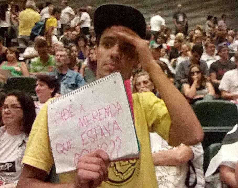 CPI da Merenda Já! Estudantes fazem blitz na Assembleia Legislativa de São Paulo