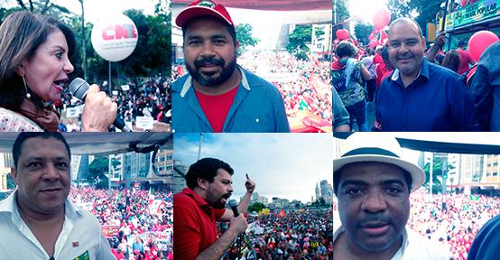 Dia 18: Movimentos sociais na trincheira em defesa da democracia