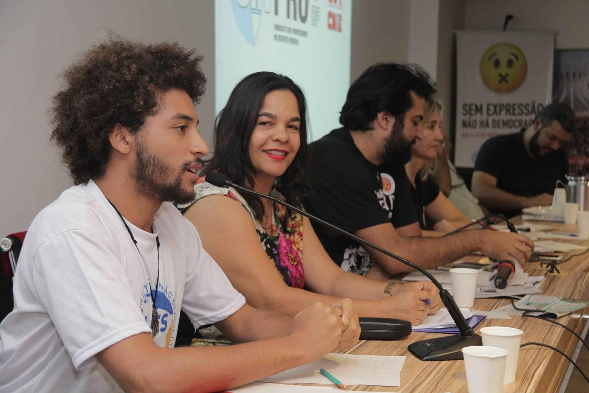 No Distrito Federal, estudantes compõem Frente em Defesa da Educação, dos Direitos e da Democracia