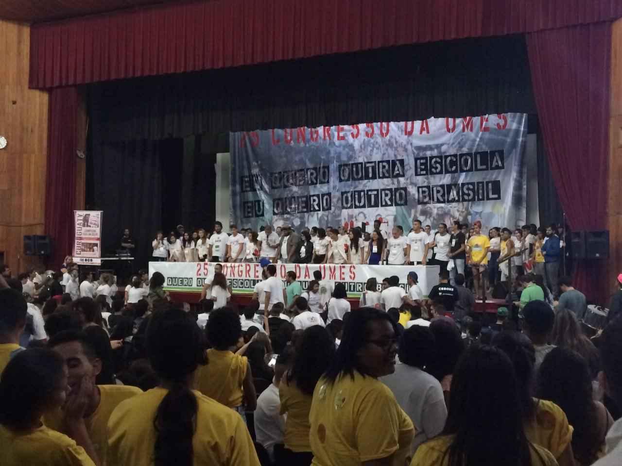 Movimento secundarista se une para a realização do 25° Congresso da UMES