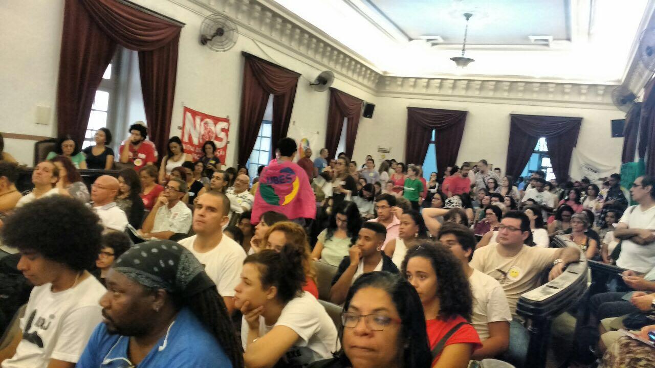 Frente Nacional contra o projeto Escola Sem Partido é lançada no Rio de Janeiro