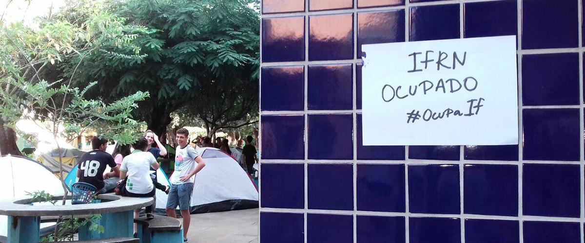 Contra MP do Ensino Médio, secundaristas do Rio Grande do Norte ocupam Institutos Federais