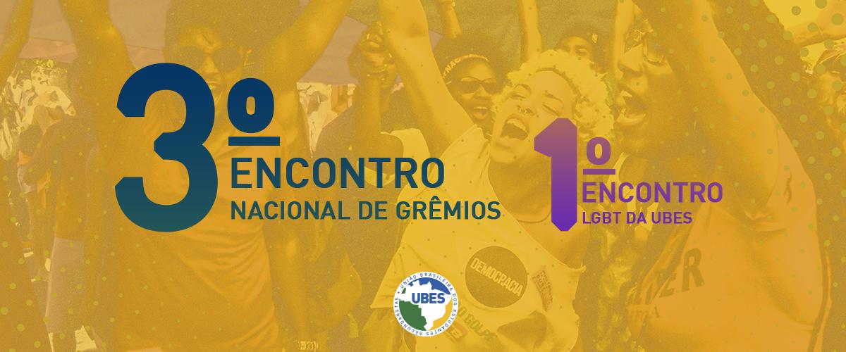 UBES aprova Regimento do 3º Encontro Nacional de Grêmios