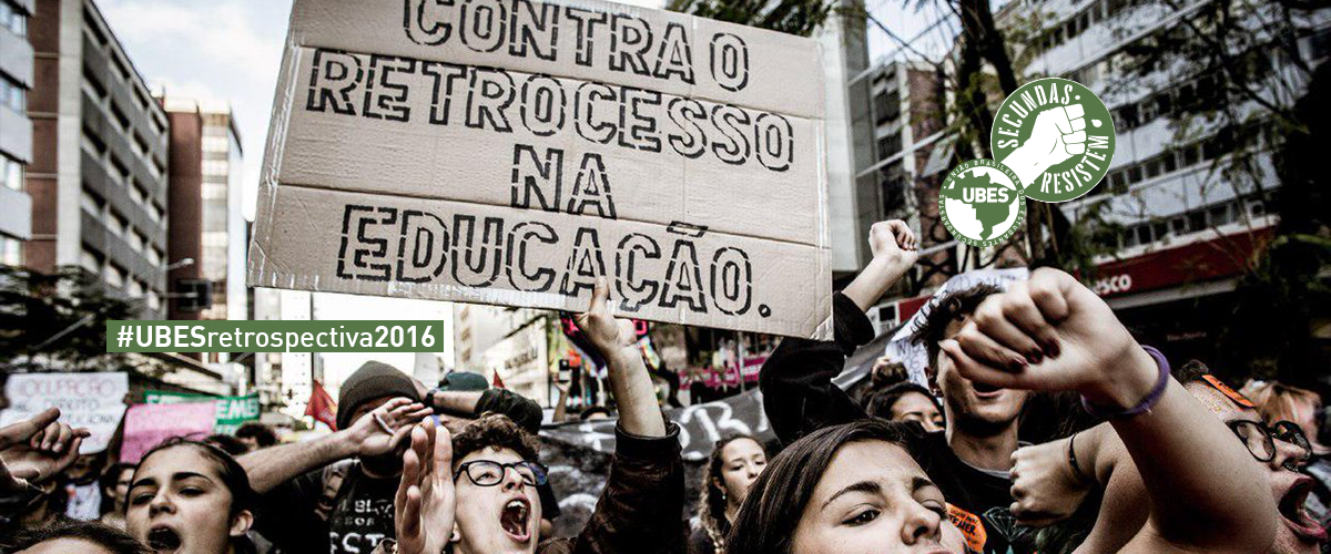 #UBESretrospectiva: 2016 foi Ocupar e Resistir!