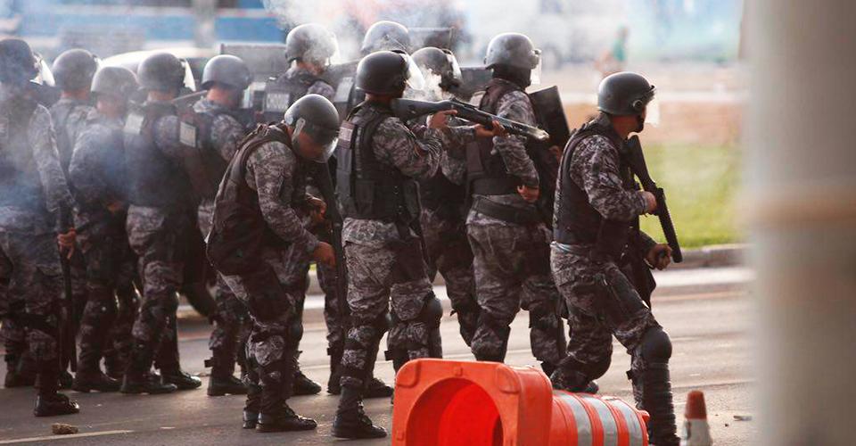 violência policial pec 55