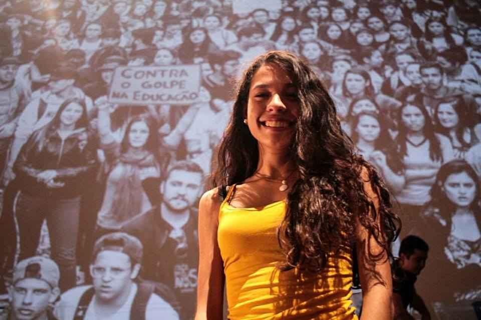 """""""As ocupações proporcionam muito o desenvolvimento de trabalho em equipe, união, solidariedade."""" (Foto: Marcelo Rocha/ MÍDIA NINJA)"""