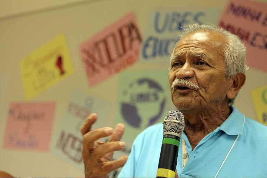 Deputado Chico Lopes durante o debate sobre a PEC 55 no 3º ENG. Foto: Fábio Bardella