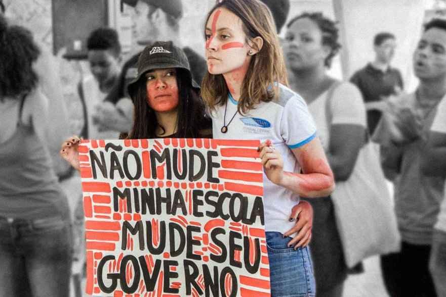 reforma protesto