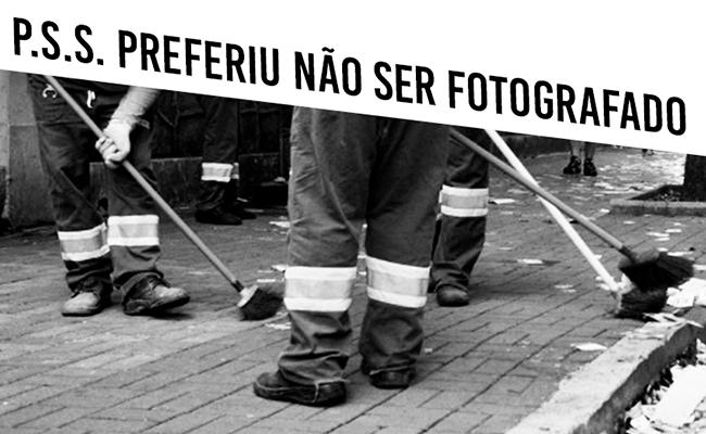 """P.S.S., terceirizado na limpeza urbana paulistana, explica que não tem garantia: """"É bom só para o patrão""""."""