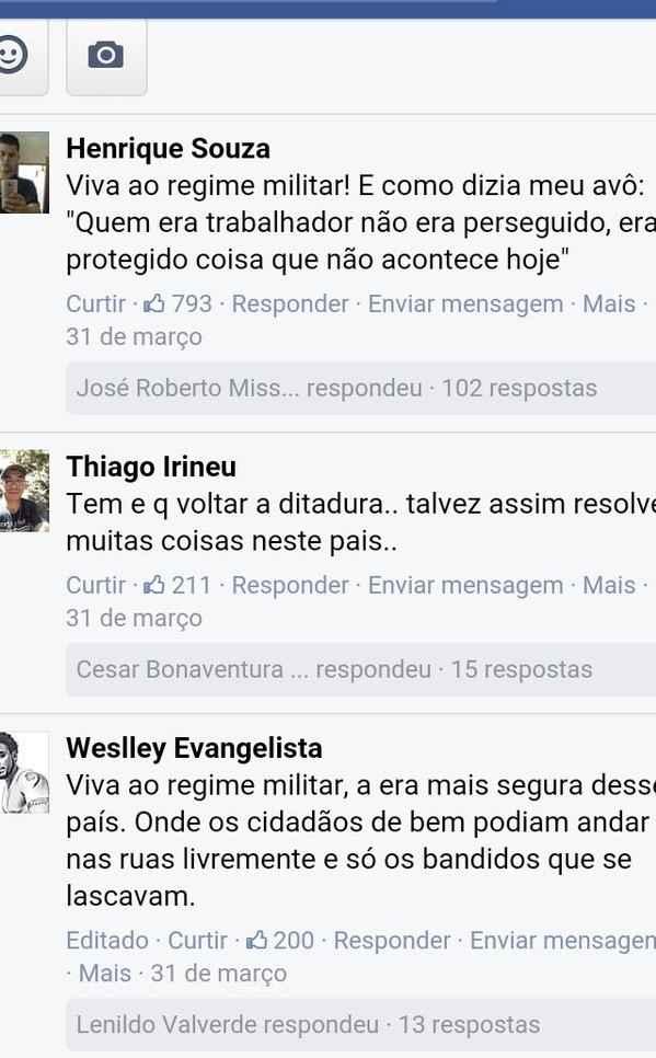 ditadura-comentário