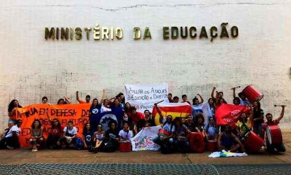 Jornada de Lutas: juventude na rua pela educação