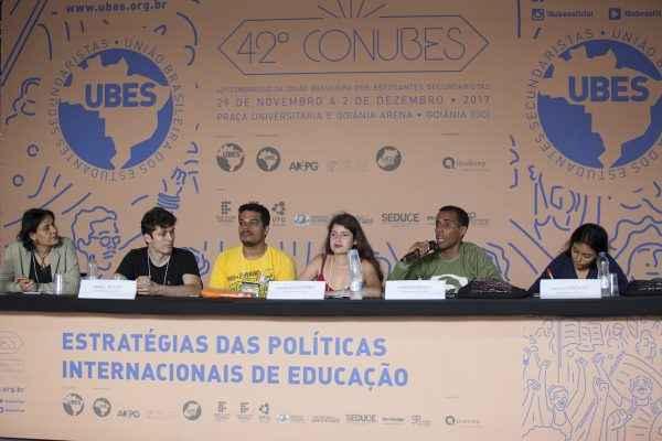 Jovens da América Latina participam do Conubes