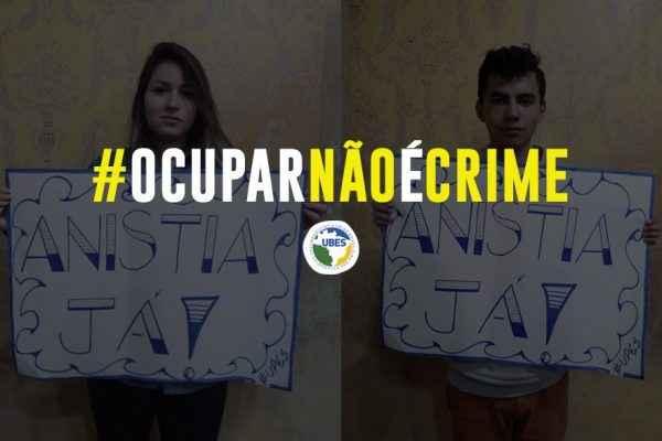 #AnistiaJá: No Paraná, estudantes lutam contra sentenças arbitrárias pós ocupações