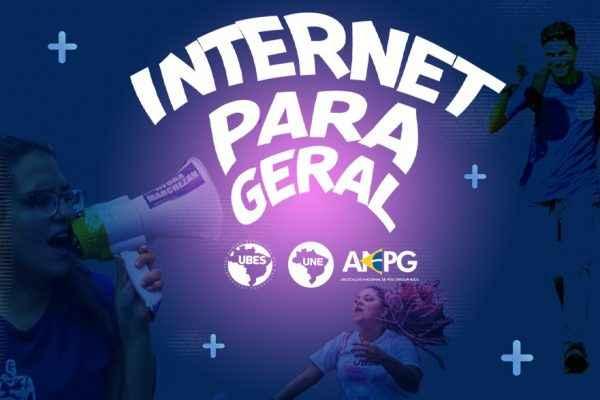 """Contra exclusão digital, entidades estudantis lançam campanha """"Internet Para Geral"""""""
