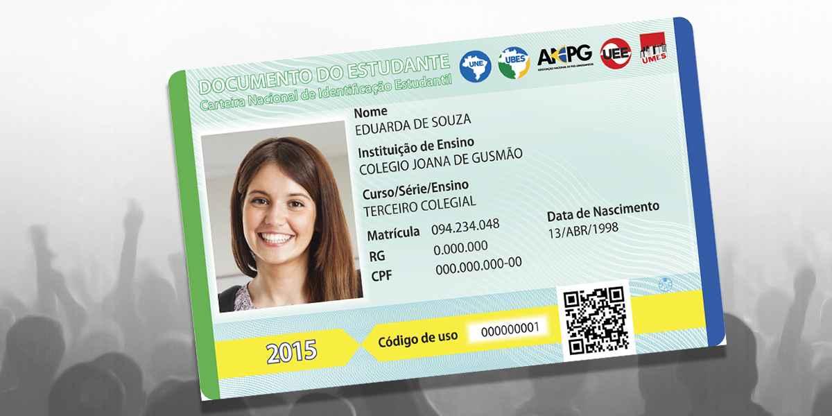 Entidades estudantis de todo o país já podem se cadastrar para emitir carteira