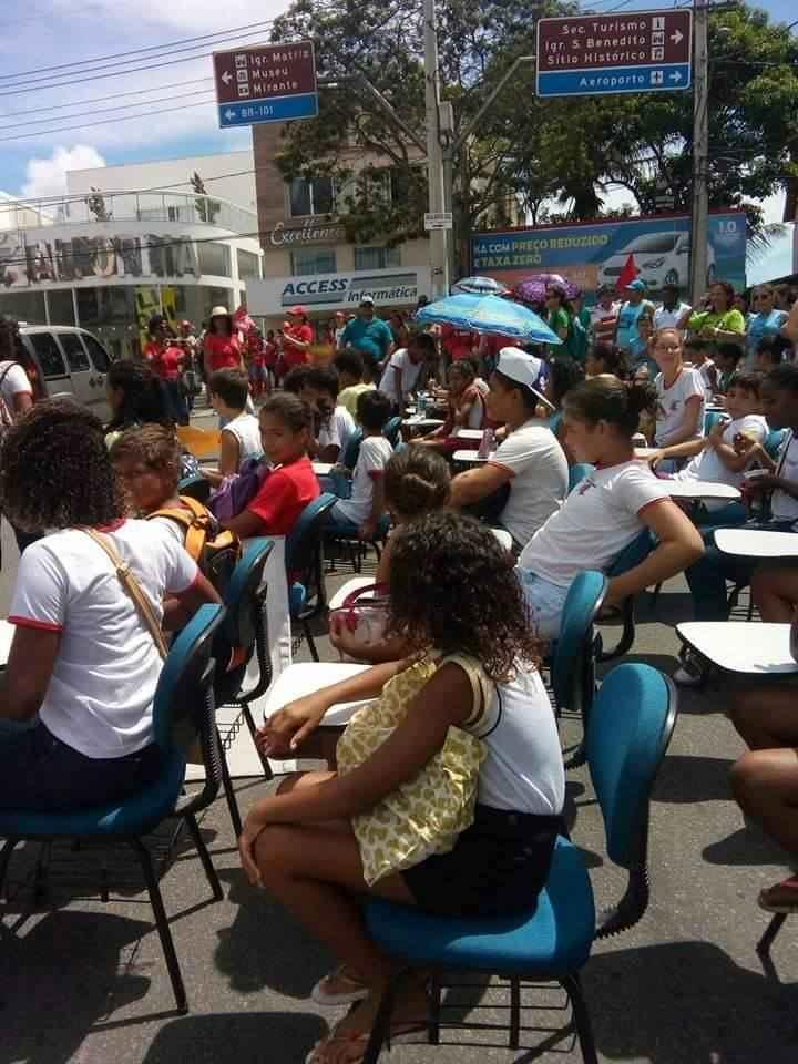 Em São Mateus (ES), ano letivo começa com lutas e vitórias na educação