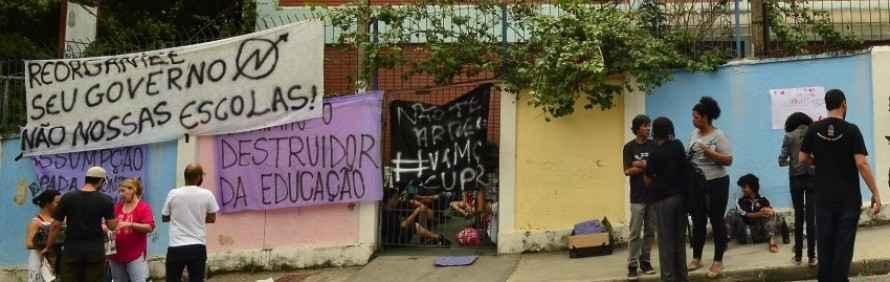 """Desmascarado o """"golpe da reorganização"""" de Geraldo Alckmin"""