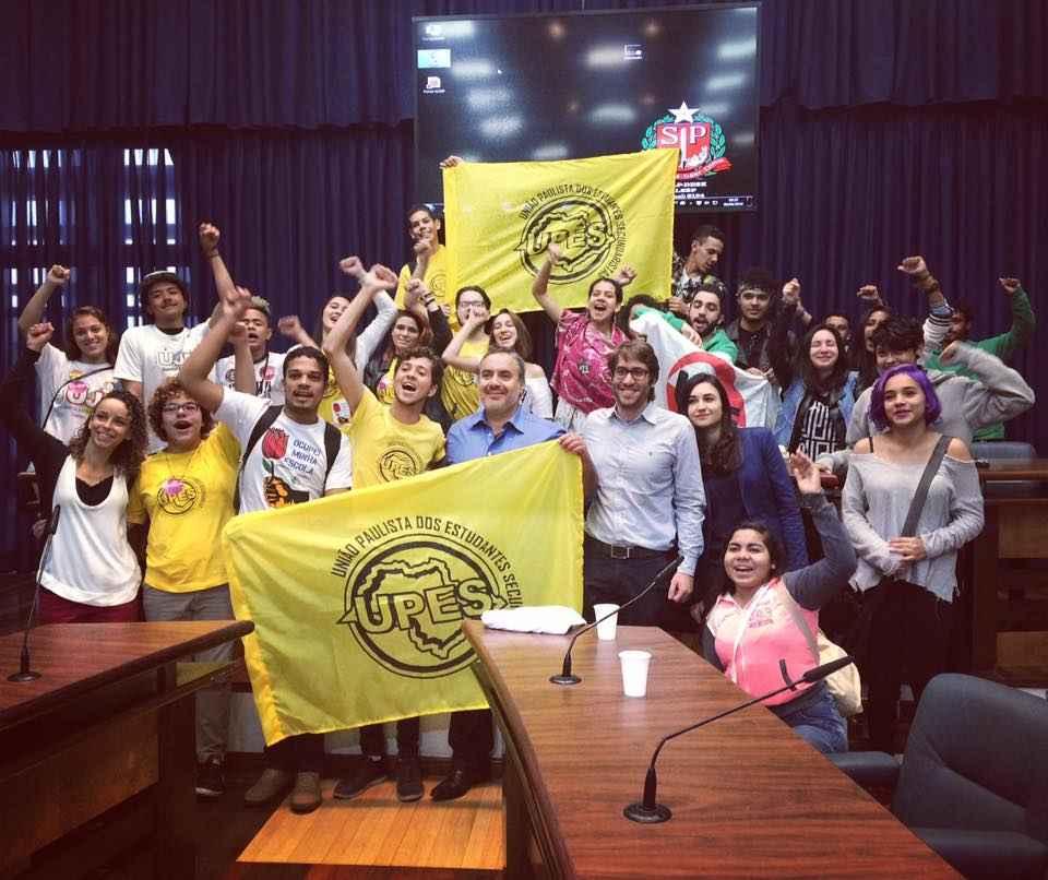Transparência Internacional apoia pressão estudantil pela integridade da CPI da Merenda