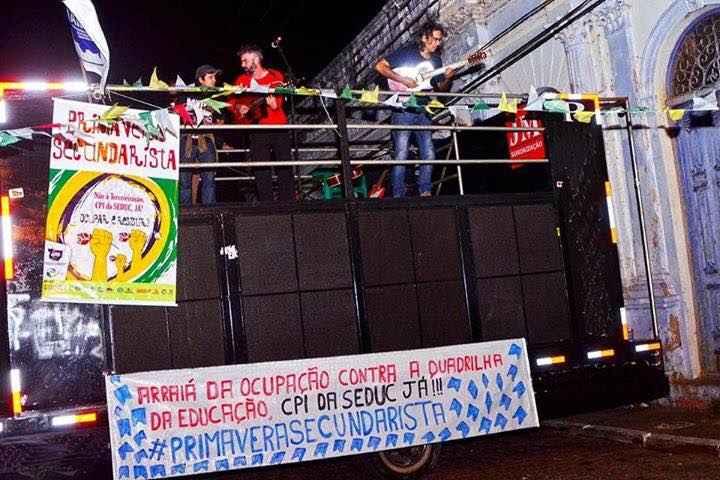 Secundas aproveitam festas juninas para reforçar lutas do movimento estudantil