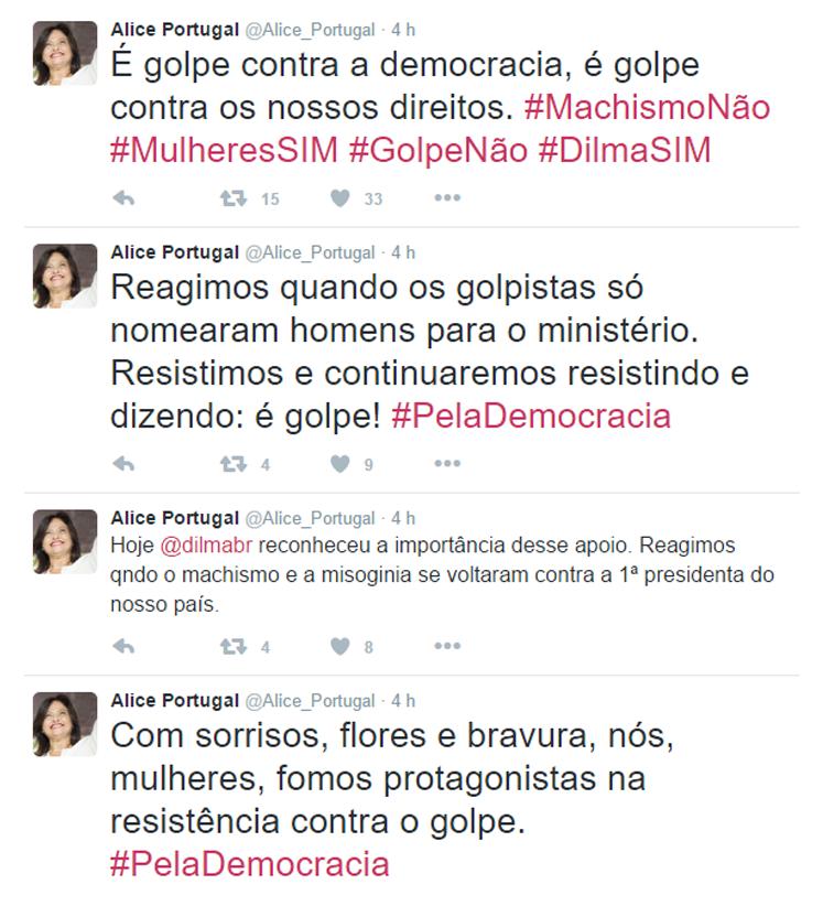Alice Portugal _ twitter