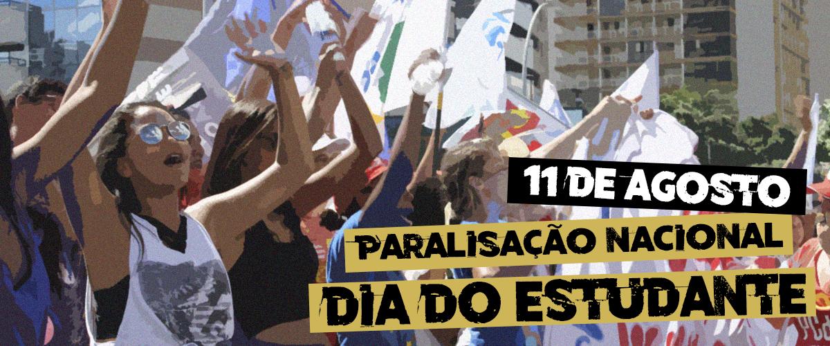 Por uma educação pública de qualidade, estudantes organizam dia de paralisação nacional