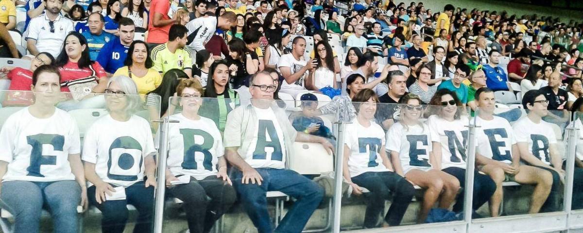 """Mesmo com censura, """"Fora Temer"""" marca abertura das Olimpíadas 2016"""