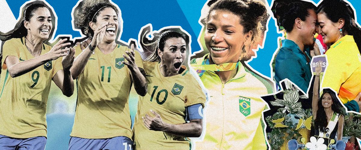 A Rio 2016 foi a olimpíada das mulheres e da diversidade