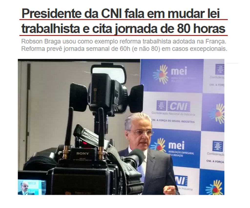 presidenre da CNI _ jornada 80 horas