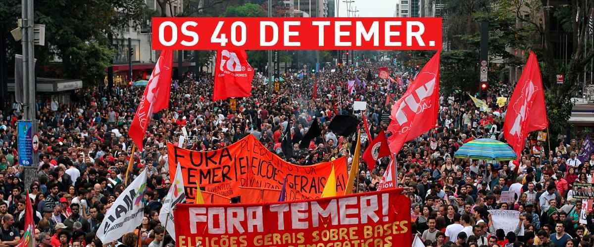 100 mil tomam as ruas de São Paulo; Violência policial ataca manifestação pacífica