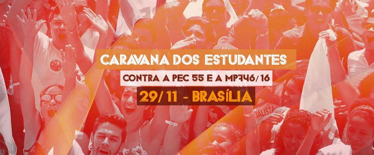 Brasília será a capital das ocupações estudantis no dia 29/11