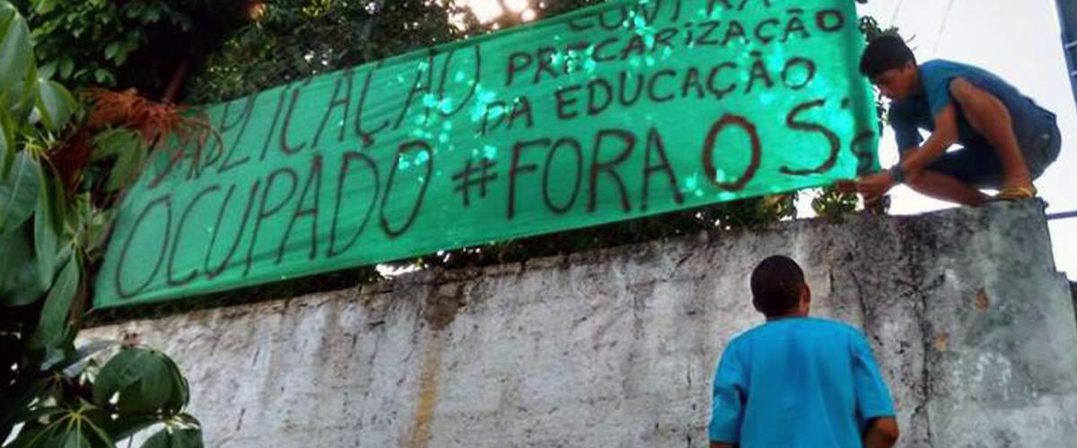 Suspensão da privatização de escolas de Goiás é vitória dos estudantes