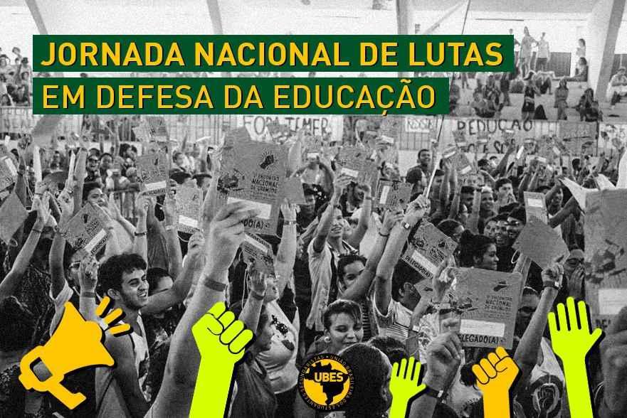 A resistência continua: UBES convoca Jornada de Lutas de Março