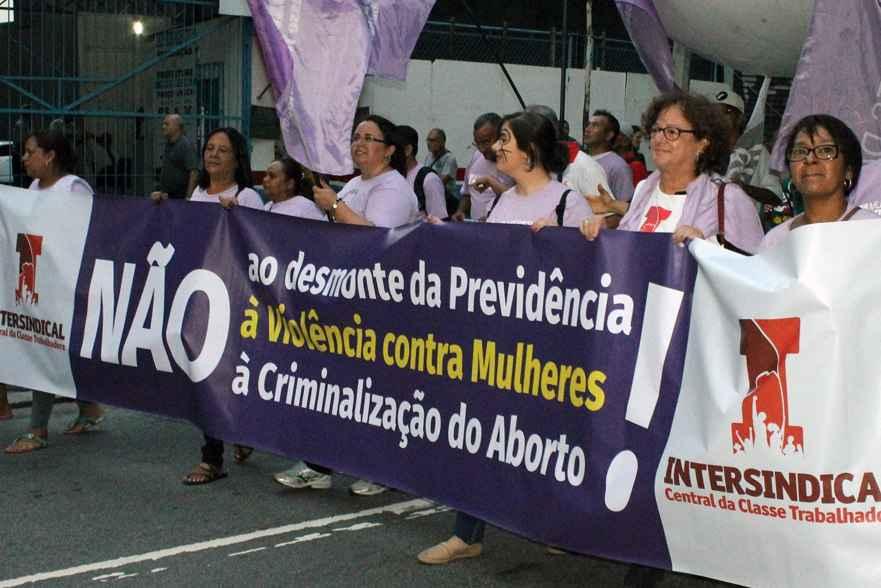 8 de março: professoras de São Paulo dizem não à reforma da aposentadoria