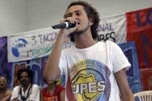 Emerson Catatau/ Presidente da UPES-SP (Foto: Marcelo Rocha - Mídia NINJA)