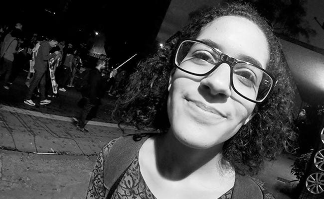 Para a estudante de Direito Bianca Borges, projeto tira a esperança da juventude.